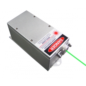 2000mW 532nm緑色DPSSレーザーシステム